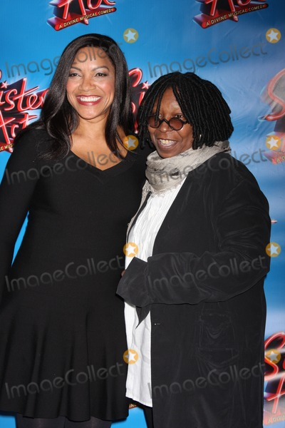 Grace Hightower Photo - New York City 20th April 2011Grace Hightower and Whoopi Goldberg at opening night of Sister Act on Broadway  at The Broadway TheatrePhoto by Adam Nemser-PHOTOlinknet