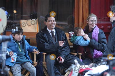 Yvonne Jung Photo - NYC  110709Anthony Ruivivar wife Yvonne Jung son Kainoa (7 years old) daughter Levi (3 12 years old) and baby boy waiting to film a scene for his new movie The Adjustment Bureau in SOHODigital Photo by Adam Nemser-PHOTOlinknet