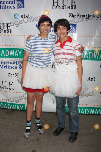 Alex Ko Photo - NYC  091210Dayton Tavares and Alex Ko (Billy Elliot) at the 19th Annual Broadway on Broadway in Times SquarePhoto by Adam Nemser-PHOTOlinknet