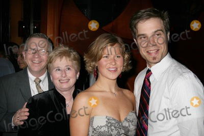 Phyllis Newman Photo - NYC  101806Cast member Carey Anderson with her husband and parents at the 5th Broadway anniversary performance of MAMMA MIA to benefit the Phyllis Newman Womens Health Iniative of The Actors Fund at the Winter Garden TheatreDigital Photo by Adam Nemser-PHOTOlinknet