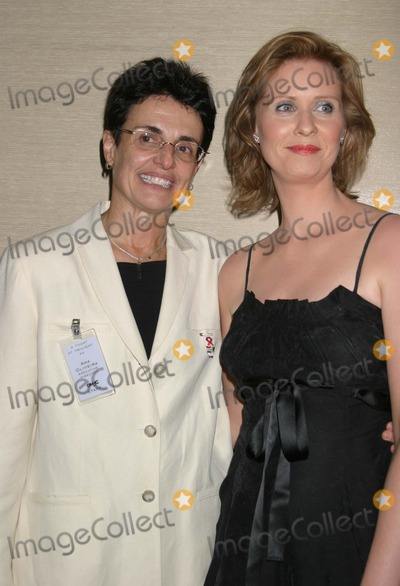 Ana Oliveira Photo - NYC  061505Ana Oliveira (Executive Director GMHC) and Cynthia Nixon at A TOAST AT TWILIGHT XV Cocktail Reception Benefiting Gay Mens Health Crisis (GMHC) at Armani CasaDigital Photo by Adam Nemser-PHOTOlinkorg