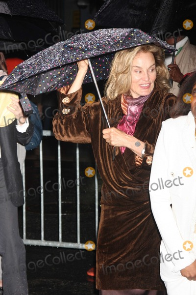 August Wilson Photo - Jessica Lange0113JPGNYC  042610Jessica Lange at the rainy Broadway opening of August Wilsons Fences at the Cort TheatreDigital Photo by Adam Nemser-PHOTOlinknet