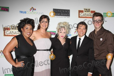 Gavin Creel Photo - NYC  092809Melinda Doolittle (American Idol) Stephanie J Block  Cyndi Lauper Michael Feinstein and Gavin Creel (Hair) at the launch of the first monthly True Colors Cabaret presented by The True Colors Tour Broadway Impact and the True Colors Fund at Feinsteins at Loews RegencyDigital Photo by Adam Nemser-PHOTOlinknet