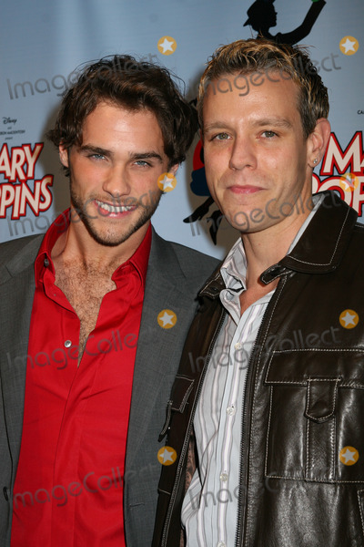 Adam Pascal Photo - NYC  111606Josh Strickland and Adam Pascal at opening night of MARY POPPINS on Broadway at the New Amsterdam TheatreDigital Photo by Adam Nemser-PHOTOlinknet