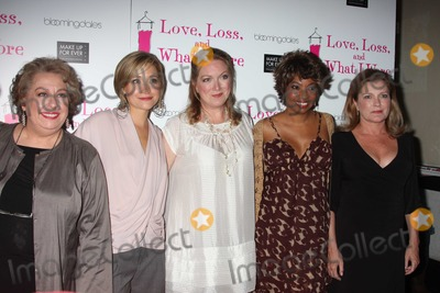 Allison Mack Photo - NYC  072910New cast members Jayne Houdyshell Allison Mack Kristine Nielsen Adriane Lenox and Kate Mulgrew at the party to celebrate the new cast of the Off-Broadway play Love Loss and What I Wore at 44 12Photo by Adam Nemser-PHOTOlinknet