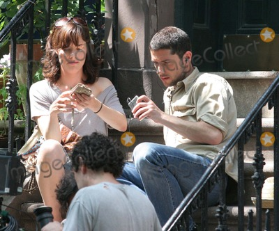 Melvil Poupaud Photo - NYC  053106Parker Posey and Melvil Poupaud in between takes of their new movie BROKEN ENGLISH filming in the West Village Digital Photo by Adam Nemser-PHOTOlinknet