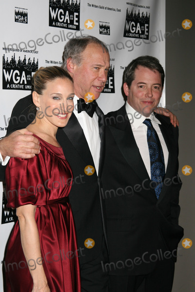 Andrew Bergman Photo - NYC  021107Matthew Broderick and Sarah Jessica Parker with honoree Andrew Bergman at the 59th Annual WRITERS GUILD AWARDS East (WGAE) at the Hudson Theatre in the Milenium HotelDigital Photo by Adam Nemser-PHOTOlinknet