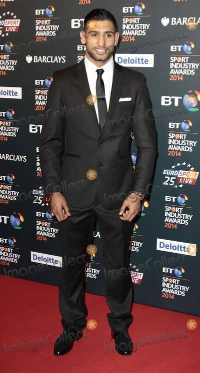 Amir Khan Photo - May 08 2014 - London England UK - BT Sport Industry Awards 2014 Battersea Evolution Battersea Park London -  Arrivals Pictured Amir Khan
