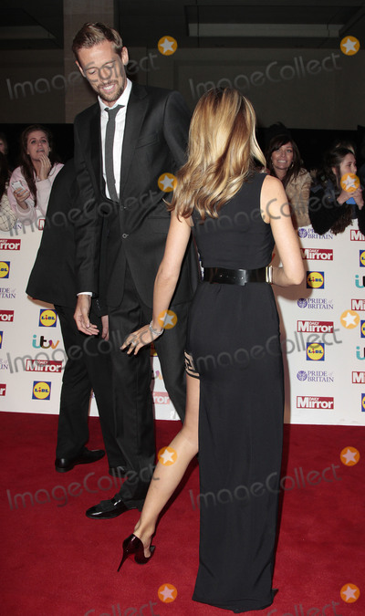 Abbey Clancy Photo - Oct 06 2014 - London England UK - Pride of Britain Awards 2014 Red Carpet Arrivals at The Grosvenor House Hotel Photo Shows Abbey Clancy Peter Crouch