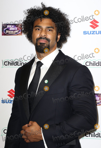 Ant  Dec Photo - Oct 01 2015 - London England UK - David Haye attending Ant  Decs Saturday Night Takeaway ChildLine Ball Old Billingsgate