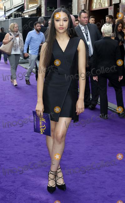 Jade Alleyne Photo - June 15 2016 - Jade Alleyne attending Disneys Aladdin Musical Press Night at Prince Edward Theatre in London UK