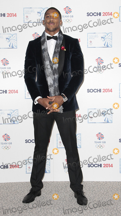 Anthony Joshua Photo - Oct 30 2013 - London England UK - British Olympic Ball to celebrate 100 days till the Sochi 2014 Olympic Winter Games The Dorchester Hotel LondonPictured Anthony Joshua