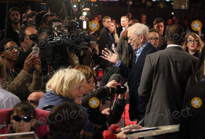 Michael Caine Photo - October 19 2015 - Michael Caine attending The Last Witch Hunter European Premiere at The Empire Leicester Square in London UK