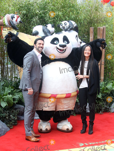 Alessandro Carloni Photo - March 6 2016 - Alessandro Carloni and Jennifer Yuh Nelson attending The European Premiere Of Kung Fu Panda 3 at Odeon Leicester Square in London UK