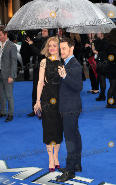 Anne Marie Duff Photo - May 12 2014 - London England UK - UK Premiere of X-Men Days Of Future Past Odeon Leicester SquarePhoto Shows James McAvoy and Anne-Marie Duff