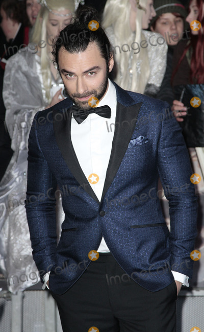 Aidan Turner Photo - Dec 01 2014 - London England UK - The Hobbit The Battle Of The Five Armies World Premiere - Red Carpet Arrivals Odeon Leicester SquarePhoto Shows Aidan Turner