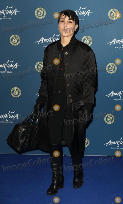 Noomi Rapace Photo - January 19 2016 - Noomi Rapace attending Cirque du Soleil Amaluna press night Royal Albert Hall in London UK