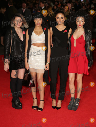 Asami Zdrenka Photo - Nov 10 2014 - London England UK - The Hunger Games Mockingjay Part 1  World Premiere Odeon Leicester SquarePhoto Shows Asami Zdrenka Amira McCarthy Jess Plummer and Shereen Cutkelvin - Neon Jungle