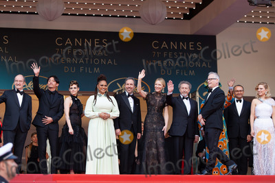 Andrey Zvyagintsev Photo - CANNES FRANCE - MAY 8 Chang Chen Kristen Stewart Ava DuVernay Denis Villeneuve Cate Blanchett Robert Guediguian Khadja Nin Andrey Zvyagintsev Lea Seydoux Thierry Fremaux attend the screening of Everybody Knows (Todos Lo Saben) and the opening gala during the 71st annual Cannes Film Festival at Palais des Festivals on May 8 2018 in Cannes France(Photo by Laurent KoffelImageCollectcom)