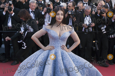 Aishwarya Rai Photo - CANNES FRANCE - MAY 19 Aishwarya Rai Bachchan attends the Okja screening during the 70th Annual Cannes Film Festival at Palais des Festivals on May 19 2017 in Cannes France(Photo by Laurent KoffelImageCollectcom)