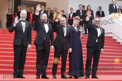 Andrey Zvyagintsev Photo - CANNES FRANCE - MAY 18 Director Mikhail Krichman actor Alexey Rozin director Andrey Zvyagintsev actress Maryana Spivak and producer Alexander Rodnyansky attend the Nelyobov (Loveless) screening during the 70th annual Cannes Film Festival at Palais des Festivals on May 18 2017 in Cannes France (Photo by Laurent KoffelImageCollectcom)