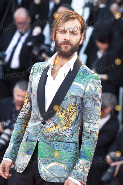 Alessandro Borghi Photo - VENICE ITALY - SEPTEMBER 05 Alessandro Borghi  walks the red carpet ahead of the mother screening during the 74th Venice Film Festival at Sala Grande on September 5 2017 in Venice Italy