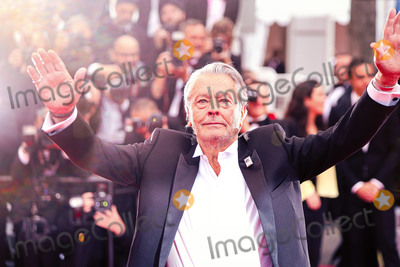 Alain Delon Photo - CANNES FRANCE - MAY 19 Alain Delon attends the screening of A Hidden Life (Une Vie Cache) during the 72nd annual Cannes Film Festival on May 19 2019 in Cannes France (Photo by Laurent KoffelImageCollectcom)