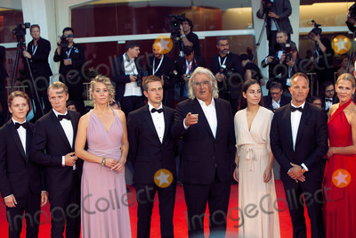Asne Seierstad Photo - VENICE ITALY - SEPTEMBER 05 Jonas Strand Gravli Thorbjorn Harr Maria Bock Anders Danielsen Paul Greengrass Seda Witt Jon Oigarden and Asne Seierstad walk the red carpet ahead of the 22 July screening during the 75th Venice Film Festival at Sala Grande on September 5 2018 in Venice Italy(Photo by Laurent KoffelImageCollectcom)