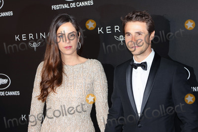 Anouchka Delon Photo - CANNES FRANCE - MAY 19 Anouchka Delon and Julien Dereims at Place de la Castre on May 19 2019 in Cannes France(Photo by Laurent KoffelImageCollectcom)