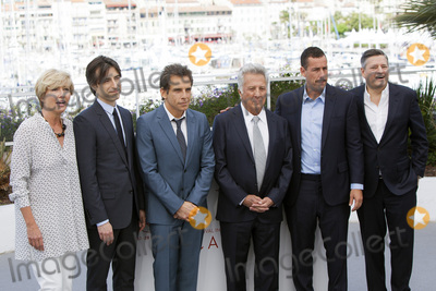 Adam Sandler Photo - CANNES FRANCE - MAY 21 (L-R) Actress Emma Thompson director Noah Baumbach actors Ben Stiller Dustin Hoffman Adam Sandler and Netflix CEO Ted Sarandos attends the The Meyerowitz Stories Photocall during the 70th annual Cannes Film Festival at Palais des Festivals on May 21 2017 in Cannes France(Photo by Laurent KoffelImageCollectcom)