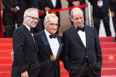 Thierry Fremaux Photo - CANNES FRANCE - MAY 8 Thierry Fremaux Martin Scorsese Pierre Lescure attend the screening of Everybody Knows (Todos Lo Saben) and the opening gala during the 71st annual Cannes Film Festival at Palais des Festivals on May 8 2018 in Cannes France(Photo by Laurent KoffelImageCollectcom)