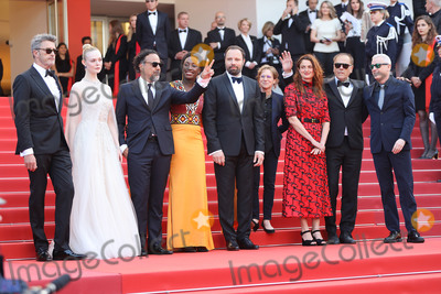Alice Rohrwacher Photo - CANNES FRANCE - MAY 25 (L-R) Jury Members of the main competition Pawel Pawlikowski Elle Fanning Alejandro Gonzalez Inarritu Maimouna NDiaye Yorgos Lanthimos Kelly Reichardt Robin Campillo Alice Rohrwacher and Enki Bilal attend the closing ceremony screening of The Specials during the 72nd annual Cannes Film Festival on May 25 2019 in Cannes France(Photo by Laurent KoffelImageCollectcom)
