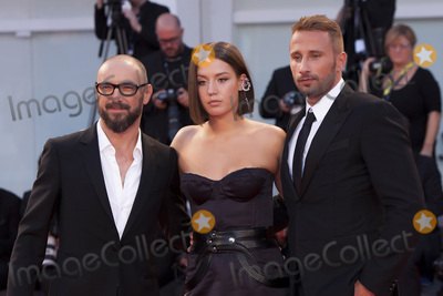 Adele Exarchopoulos Photo - VENICE ITALY - SEPTEMBER 08 Michael Roskam Adele Exarchopoulos and Matthias Schoenaerts walk the red carpet ahead of the Racer And The Jailbird (Le Fidele) screening during the 74th Venice Film Festival at Sala Grande on September 8 2017 in Venice Italy(Photo by Laurent KoffelImageCollectcom)