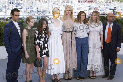 Addison Riecke Photo - CANNES FRANCE - MAY 24 (L-R) Actors Colin Farrell Angourie Rice Addison Riecke Elle Fanning Nicole Kidman director Sofia Coppola actress Kirsten Dunst and producer Youree Henley attend The Beguiled photocall during the 70th annual Cannes Film Festival at Palais des Festivals on May 24 2017 in Cannes France(Photo by Laurent KoffelImageCollectcom)