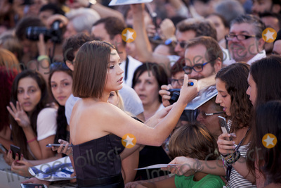 Adele Exarchopoulos Photo - VENICE ITALY - SEPTEMBER 08 Adele Exarchopoulos walks the red carpet ahead of the Racer And The Jailbird (Le Fidele) screening during the 74th Venice Film Festival at Sala Grande on September 8 2017 in Venice Italy(Photo by Laurent KoffelImageCollectcom)