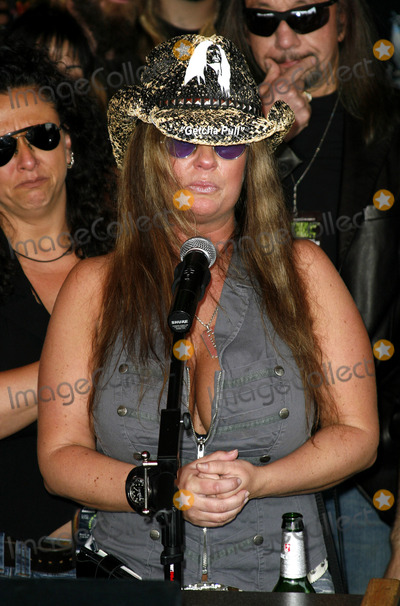Dimebag Darrell Photo - Rita Haney attends the Posthumoustly Induction of legenadary metal guitarist Dimebag Darrell Abbott into Hollywoods RockWalk held at the Guitar Center in Hollywood California on May 17 2007  Copyright 2007 by Arno GranPopular Images