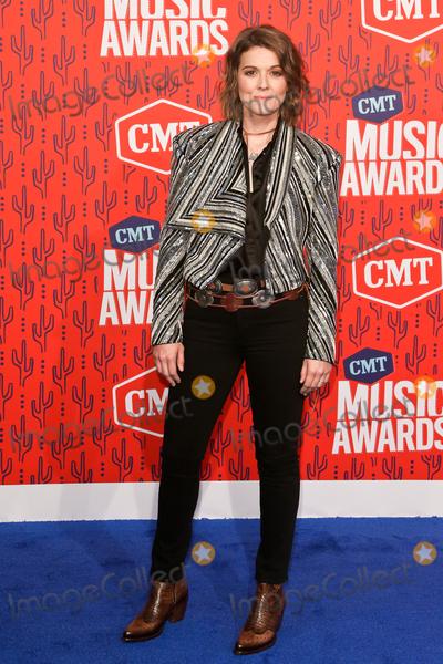 Brandi Carlile Photo - NASHVILLE - JUNE 5 Brandi Carlile attends the 2019 CMT Music Awards at Bridgestone Arena on June 5 2019 in Nashville Tennessee