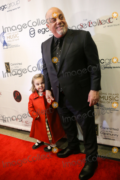 Billy Joel Photo - WESTBURY NY - NOV 8 Billy Joel (R) and his daughter Della Rose attend the 2018 Long Island Music Hall of Fame induction ceremony at The Space at Westbury on November 8 2018 in Westbury New York