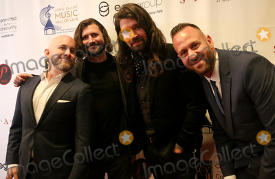 Taking Back Sunday Photo - WESTBURY NY - NOV 8 (L-R) Shaun Cooper John Nolan Adam Lazzara and Mark OConnell of Taking Back Sunday attend the 2018 Long Island Music Hall of Fame induction ceremony at The Space at Westbury on November 8 2018 in Westbury New York