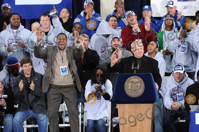 Tom Coughlin Photo - The New York Giants have a ticker-tape parade in downtown Manhattan to celebrate their win in the 2008 Superbowl