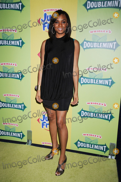 Alesha Renee Photo - Alesha Renee from BET arriving at a private concert to debut remakes of the iconic Wrigleys Gum jingles at the Nokia Theatre in Times Square on July 29 2008 in New York City
