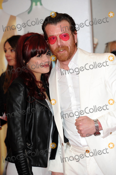 Jesse Hughes Photo - February 24 2016 LondonJesse Hughes and Tuesday Cross of Eagles of Death Metal  arriving at the BRIT Awards 2016 at The O2 Arena on February 24 2016 in London EnglandBy Line FamousACE PicturesACE Pictures Inctel 646 769 0430