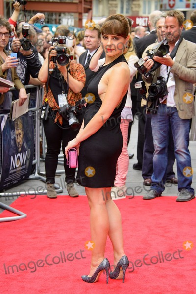 Annabel Scholey Photo - June 9 2014 LondonAnnabel Scholey attends the Now premiere at the Empire Leicester Square on June 9 2014 in London