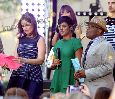 Savannah Guthrie Photo - August 26 2016 New York CitySavannah Guthrie and Al Roker on NBCs Today show at the Rockefeller Plaza on August 26 2016 in New York City By Line Serena XuACE PicturesACE Pictures IncTel 6467670430