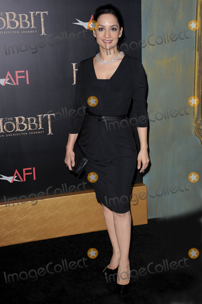 Archie Panjabi Photo - December 6 2012 New York City Archie Panjabi arrives at the US premiere of The Hobbit An Unexpected Journey at the Ziegfeld Theatre on December 6 2012 in New York City