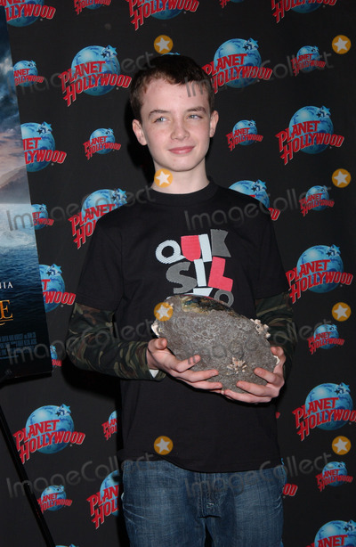 Alex Etel Photo - Actor Alex Etel donates memorabilia from The Water Horse Legend of the Deep to Planet Hollywood in Times Square