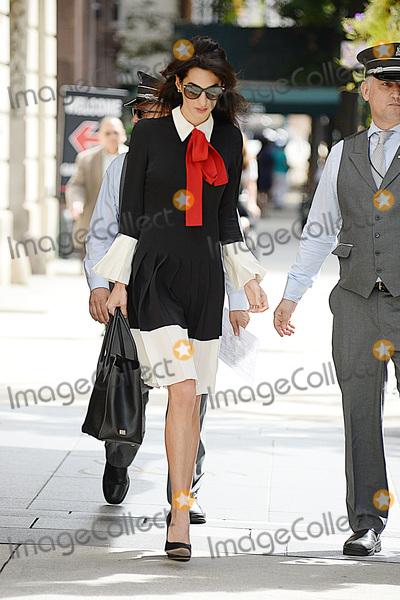 Amal Clooney Photo - September 21 2016 New York CityAmal Clooney was seen in Midtown on September 21 2016 New York CityCredit Kristin CallahanACE PicturesTel 646 769 0430