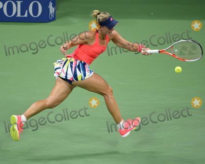 Angelique Kerber Photo - September 8 2016 New york CityRussell Westbrook on court at day 11 of the US Open Tennis Championships on September 8 2016 in New York CityBy Line SolarACE PicturesACE Pictures IncTel 6467670430
