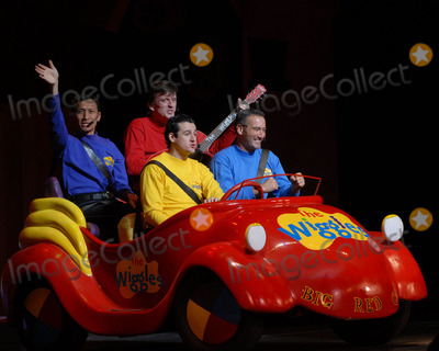 ANTHONY FIELD Photo - The Wiggles childrens entertainers Jeff Fatt Murray Cook Sam Moran and Anthony Field perform live during the GDay USA Aussie Family Concert at New York City Center