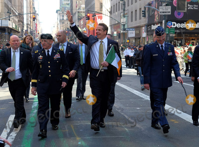 Andrew Cuomo Photo - March 17 2016 New York CityAndrew Cuomo New York Govenor at the 255th annual St Patricks Day Parade along Fifth Avenue in New York City on March 17 2016 in New York CityBy Line Curtis MeansACE PicturesACE Pictures Inctel 646 769 0430